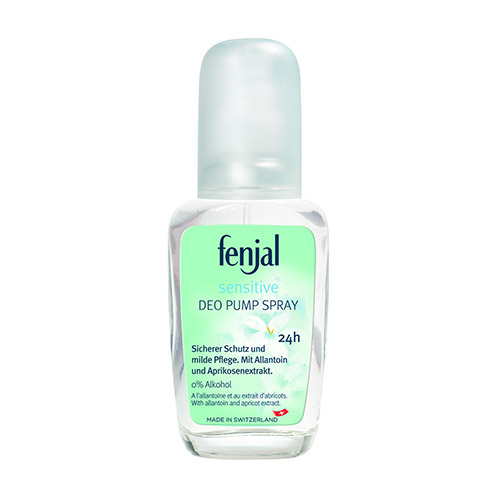 Fann.cz Fenjal Sensitive Deo Pump Spray deodorant 75 ml
